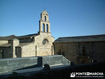 Iglesia de San Martín de Castañeda; senderismo en la palma